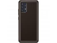 Husa TPU Samsung Galaxy A32 LTE A325, Clear Cover, Neagra, Blister EF-QA325TBEGWW