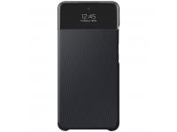 Husa Samsung Galaxy A52, S View Wallet, Neagra, Blister EF-EA525PBEGEE