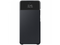 Husa Samsung Galaxy A72, S View Wallet, Neagra EF-EA725PBEGWW