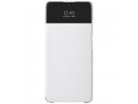 Husa Poliuretan Samsung Galaxy A32 LTE A325, S View Wallet, Alba EF-EA325PWEGEE