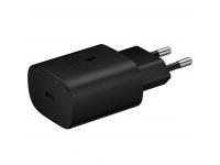 Incarcator Retea USB Samsung Fast Charge, 25W, 1 X USB Tip-C, Negru, Blister EP-TA800NBEGEU