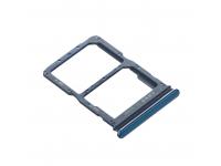 Suport Card - Suport SIM Huawei P40 lite, Albastru