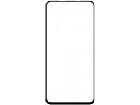 Folie Protectie Ecran Mr. Monkey Glass pentru Samsung Galaxy A21s, Sticla securizata, Full Face, Full Glue, 5D (Strong Lite), Neagra