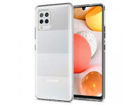 Husa TPU Spigen Liquid Crystal pentru Samsung Galaxy A42 5G, Transparenta, Blister ACS02114