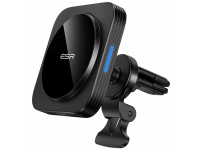 Incarcator Auto Wireless ESR HaloLock MagSafe, Air Vent, 10W, Negru, Blister