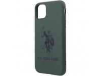 Husa TPU U.S. Polo Big Horse pentru Apple iPhone 11 Pro, Verde USHCN58SLHRGN