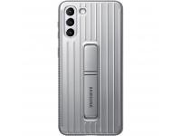 Husa Plastic Samsung Galaxy S21 5G, Protective Standing Cover, Gri EF-RG991CJEGWW