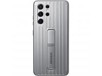 Husa Plastic Samsung Galaxy S21 Ultra 5G, Protective Standing Cover, Gri EF-RG998CJEGWW