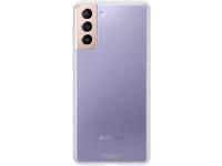 Husa TPU Samsung Galaxy S21 5G, Clear Cover, Transparenta EF-QG991TTEGWW