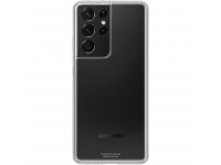 Husa TPU Samsung Galaxy S21 Ultra 5G, Clear Cover, Transparenta EF-QG998TTEGWW
