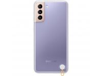 Husa Plastic Samsung Galaxy S21 5G, Clear Protective Cover, Alba EF-GG991CWEGWW