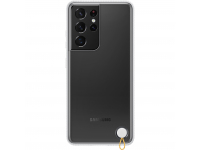Husa Plastic Samsung Galaxy S21 Ultra 5G, Clear Protective Cover, Alba EF-GG998CWEGWW