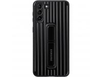 Husa Plastic Samsung Galaxy S21 5G, Protective Standing Cover, Neagra EF-RG991CBEGWW