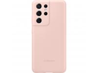 Husa TPU Samsung Galaxy S21 Ultra 5G, Roz EF-PG998TPEGWW