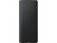 Husa Piele Samsung Galaxy Z Fold2 5G F916, Leather Flip Cover, Neagra EF-FF916LBEGEU