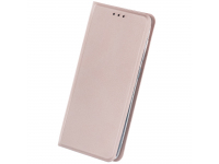 Husa Piele OEM Smart Skin pentru Xiaomi Mi 10T 5G / Xiaomi Mi 10T Pro 5G, Roz Aurie, Bulk