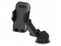 Suport Auto OEM F2, Telescopic, Pentru Telefon, Negru, Blister