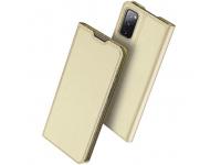 Husa Poliuretan DUX DUCIS Skin Pro pentru Samsung Galaxy S20 FE G780, Aurie, Blister