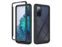 Husa Plastic - TPU Tech-Protect DEFENSE360 pentru Samsung Galaxy S20 FE G780, Neagra, Bulk