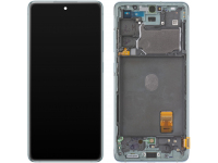 Display - Touchscreen Samsung Galaxy S20 FE 5G, Cu Rama, Verde GH82-24214D