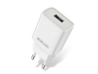 Incarcator Retea USB JELLICO A25, 1 X USB, 2.1A, Alb, Blister
