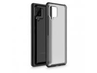 Husa Plastic - TPU Tech-Protect HYBRIDSHELL pentru Samsung Galaxy A42 5G, Frost, Neagra