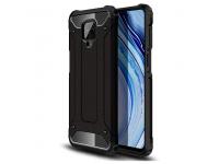 Husa Plastic - TPU OEM Tough Armor pentru Xiaomi Redmi Note 9 Pro / Xiaomi Redmi Note 9S, Neagra, Bulk