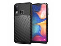 Husa TPU OEM Thunder Tough pentru Samsung Galaxy A20e, Neagra