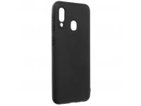 Husa TPU Forcell Soft pentru Samsung Galaxy A20e, Neagra