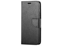 Husa Piele OEM Fancy pentru Samsung Galaxy A20s, Neagra