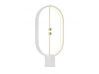 Lampa LED OEM Allocacoc Heng Balance Lamp Ellipse, 5W, Lumina calda, Alba