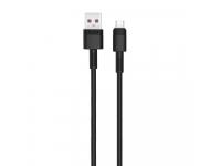 Cablu Date si Incarcare USB la MicroUSB XO Design NB-Q166, 1 m, 5A, Negru, Blister