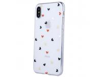 Husa TPU OEM Ultra Trendy Love Time3 pentru Apple iPhone 12 Pro Max, Multicolor Transparenta, Bulk