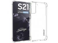 Husa TPU Enkay Antisoc pentru Samsung Galaxy S21 5G, Transparenta