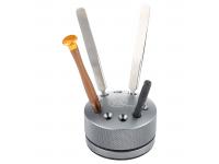 Suport Surubelnite OEM, cu baza rotativa, Argintiu
