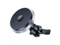 Incarcator Auto Wireless Totu Design CACW-049, MagSafe, Quick Charge, 15W, Negru