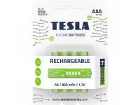 Baterie Tesla Batteries Rechargeable+, AAA / Ni-MH / HR03 / 1.2V, Set 4 bucati, Reincarcabila
