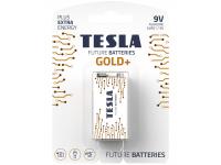 Baterie Tesla Batteries Gold+, 6LR61 / 9V, Alcalina