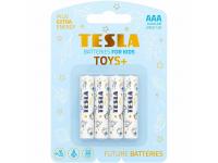 Baterie Tesla Batteries Toys+ Boy, AAA / LR03 / 1.5V, Set 4 bucati, Alcalina