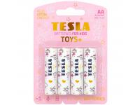 Baterie Tesla Batteries Toys+ Girl, AA / LR6 / 1.5V, Set 4 bucati, Alcalina