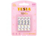 Baterie Tesla Batteries Toys+ Girl, AAA / LR03 / 1.5V, Set 4 bucati, Alcalina