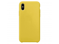 Husa TPU OEM Pure Silicone pentru Apple iPhone 12 Pro Max, Galbena, Blister