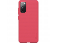Husa Plastic Nillkin Super Frosted pentru Samsung Galaxy S20 FE G780, Rosie, Blister