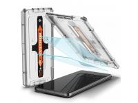 Folie Protectie Ecran Spigen EZ FIT pentru Samsung Galaxy S21+ 5G, Sticla securizata, 2.5D, Set 2 bucati, Blister AGL02537
