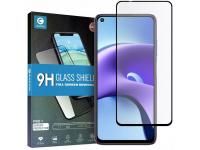 Folie Protectie Ecran Mocolo pentru XIAOMI REDMI NOTE 9T 5G, Sticla securizata, Full Face, Full Glue, 2.5D, 0.3mm, 9H, Neagra, Blister