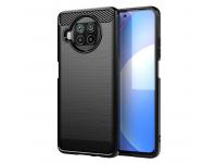 Husa TPU OEM Carbon pentru Xiaomi Mi 10T Lite 5G, Neagra, Bulk