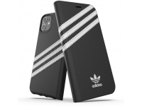 Husa Piele Adidas OR pentru Apple iPhone 11 Pro Max, Neagra 36540