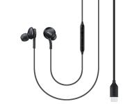 Handsfree Casti In-Ear Samsung EO-IC100BB, Cu microfon, USB Type-C, Negru, Resigilat, Blister