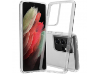 Husa TPU Nevox pentru Samsung Galaxy S21 Ultra 5G, StyleShell FLEXSHOCK, Transparenta, Blister