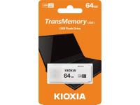 Memorie Externa KIOXIA U301, 64Gb, USB 3.0, Alba, Blister LU301W064GG4